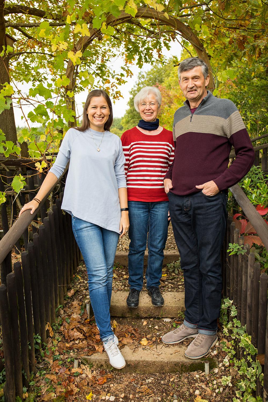 Die Winzerfamilie